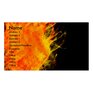 Flames 2 | pack of standard business cards
