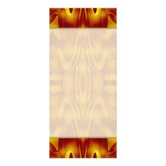Flames Abstract 10 Cm X 23 Cm Rack Card