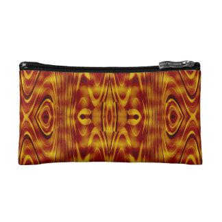 Flames Abstract Makeup Bag
