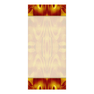 Flames Abstract Custom Rack Cards