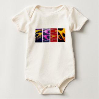 Flames Baby Bodysuit