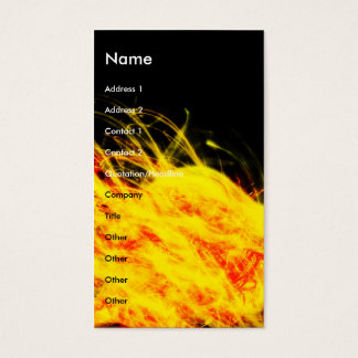 Flames | business card