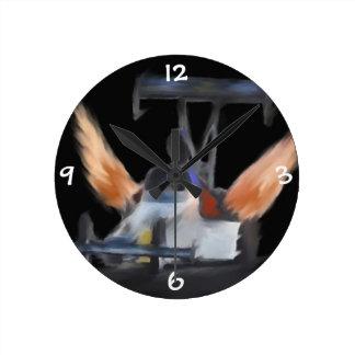 Flames clock
