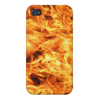 Flames Fire iPhone 4 Covers
