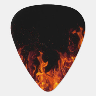 Flames Guitar Pick
