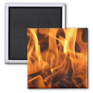 Flames Magnet