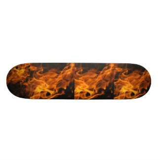 Flames Custom Skate Board