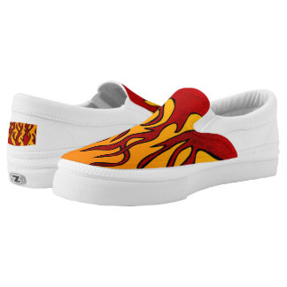 Flames Slip-On Shoes