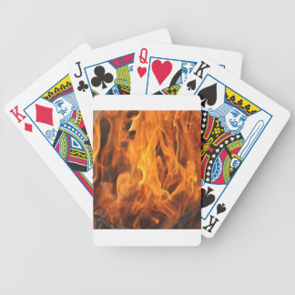 Flames - Too Hot to Handle Bicycle Playing Cards