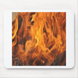 Flames - Too Hot to Handle Mouse Pad