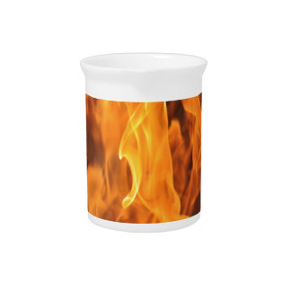 Flames - Too Hot to Handle Pitcher