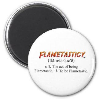 Flametasticy 6 Cm Round Magnet