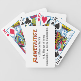 Flametasticy Bicycle Playing Cards