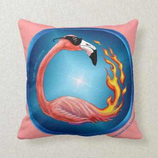 Flamin' Flamingos toss pillow Cushion
