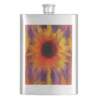 Flamin' Summer Hip Flask