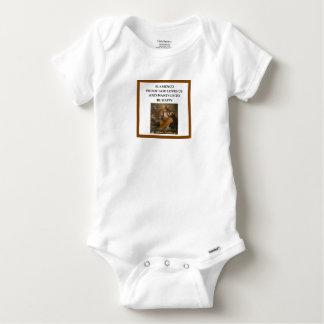flaminco baby onesie
