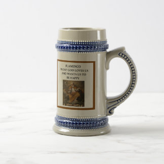 flaminco beer stein