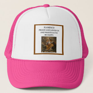 flaminco trucker hat