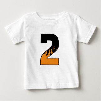 Flaming 2 baby T-Shirt