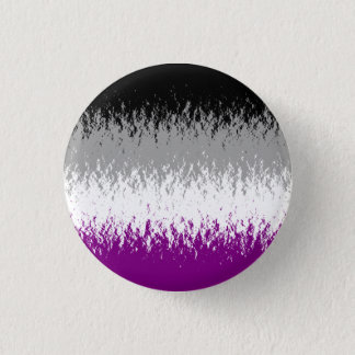 """Flaming A"" Asexual Flag Button"