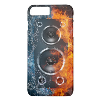 Flaming Acoustic Speakers iPhone 7 Case