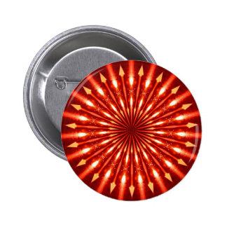flaming arrows kaleidoscope pins