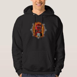 Flaming Bus Hoodie