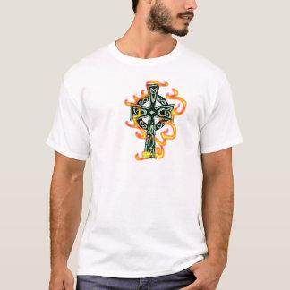 Flaming Cross T-Shirt