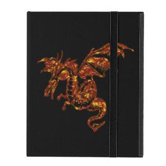 Flaming Dragon iPad Cover
