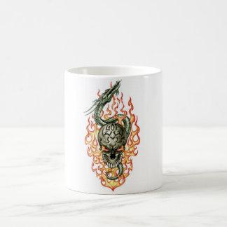 Flaming Dragon Magic Mug