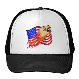 Flaming Eagle T-shirts and Gifts Trucker Hat