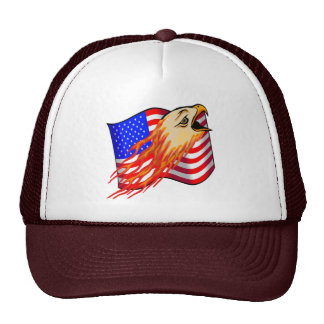 Flaming Eagle T-shirts and Gifts Mesh Hat