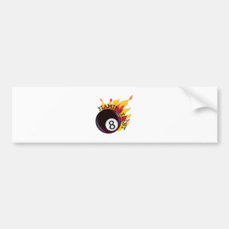 Flaming Eight Bumper Stickers