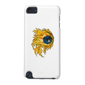 Flaming Eyeball On Fire Drawing iPod Touch (5th Generation) Cases