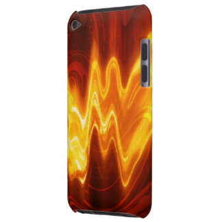 Flaming Fire Case-Mate iPod Touch Barely There iPod Cases