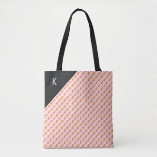 Flaming Fire (orange to pink) Tote Bag