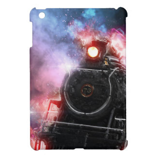 Flaming Freight Train iPad Mini Case