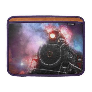 Flaming Freight Train MacBook Sleeve