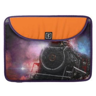 Flaming Freight Train Sleeve For MacBook Pro