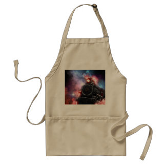 Flaming Freight Train Standard Apron