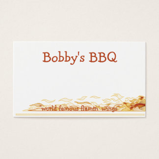 Flaming Fun Business Card