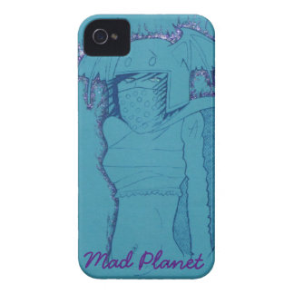 Flaming Ghost Girl iPhone 4 Case-Mate Cases