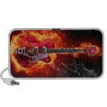 Flaming Guitar Speaker