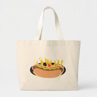 Flaming Hot Dog Bag