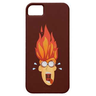 Flaming Hot Head iPhone 5 Cases