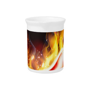 Flaming Hot Red Chilli Pepper Pitcher