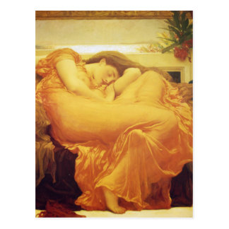 Flaming June by Frederic Leighton Postcard
