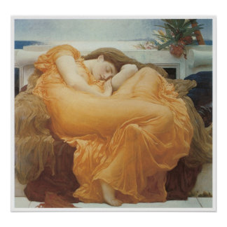 Flaming June, c. 1895 Lord Frederic Leighton Poster
