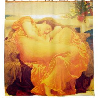 Flaming June Frederic Leighton Fine Art Shower Curtain