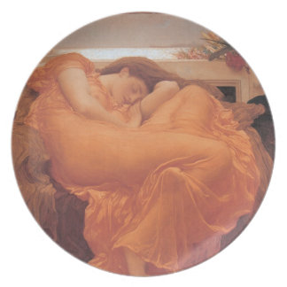 Flaming June Plate